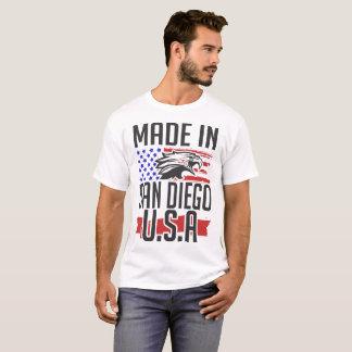 Camiseta hecho en San Diego los E.E.U.U.