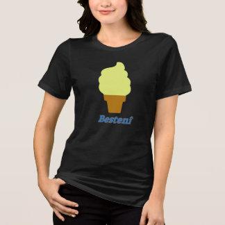 Camiseta Helado y el texto Bestenî
