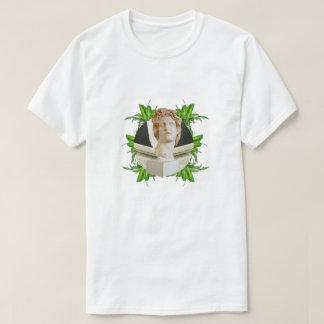 Camiseta Helios y hojas