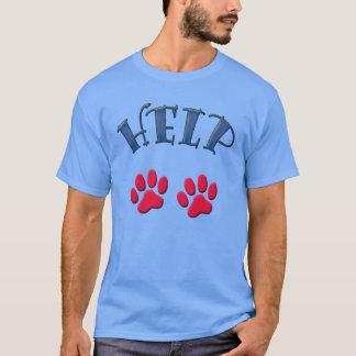 Camiseta HELP animals -. -