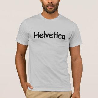 Camiseta Helvética (en cómico sin fuente)