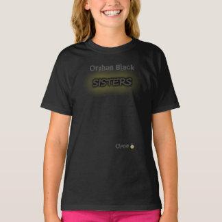 Camiseta Hermanas negras huérfanas de la copia