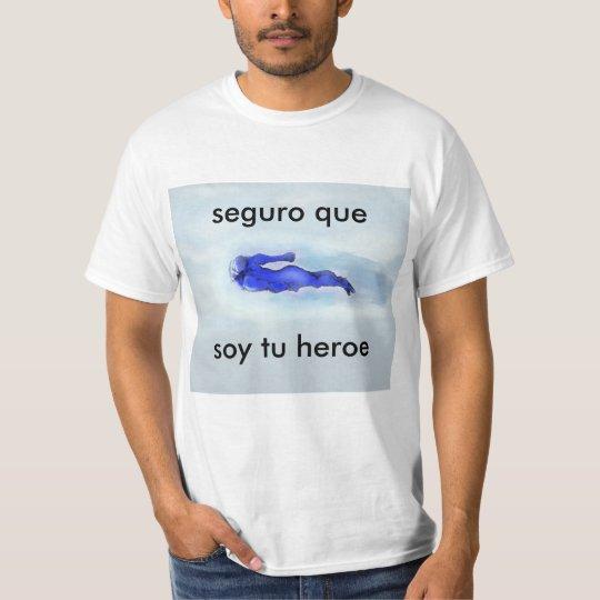 Camiseta heroe