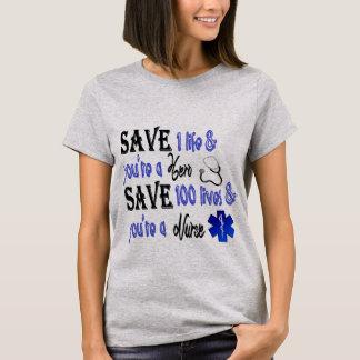 Camiseta Héroe de la enfermera
