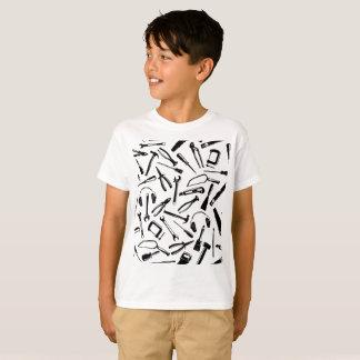 Camiseta Herramientas negras del modelo