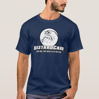 Camiseta híbrida oficial de BastardCard