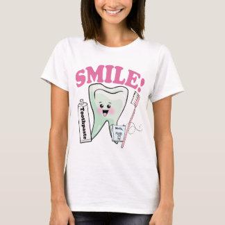 Camiseta Higienista dental del dentista