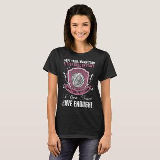Camiseta Hilado caliente suave de costura que hace punto