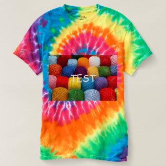 Camiseta hilado de la prueba
