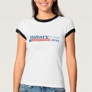 Camiseta Hillary Clinton para el campanero T del presidente