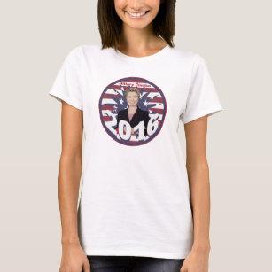 Camiseta Hillary Clinton para el presidente 2016