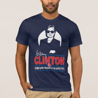 Camiseta Hillary Clinton para el presidente de la