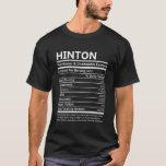 Camiseta Hinton Name T Shirt - Hinton Nutritional And Unden