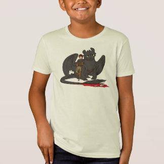 Camiseta Hipo y desdentado