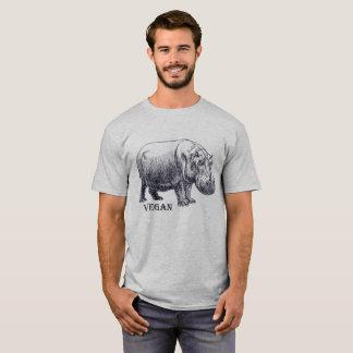 Camiseta Hippopotamus del vegano