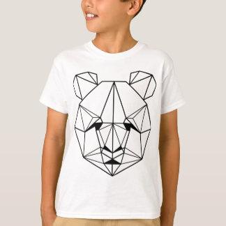 Camiseta Hipster Geometric Panda