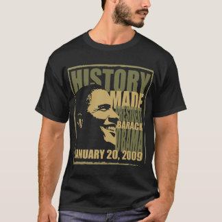 Camiseta Historia hecha