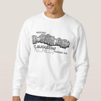 Camiseta histórica del vintage de St Augustine la