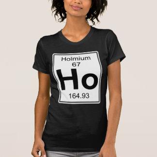 Camiseta Ho - holmio
