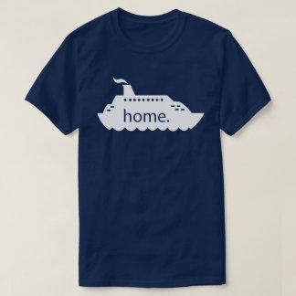 Camiseta Hogar del barco de cruceros - blanco