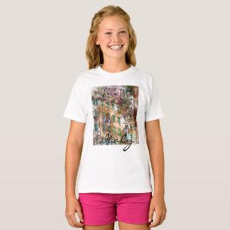 Camiseta Hogares coloridos en Cinque Terre Italia