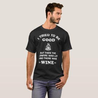 Camiseta Hoguera y vino
