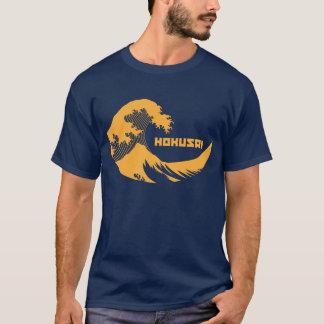 Camiseta Hokusai - la gran onda