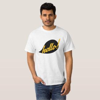 Camiseta Hola allí