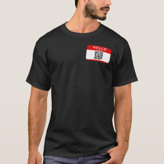 Camiseta Hola mi nombre es…