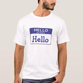 Camiseta Hola mi nombre es hola