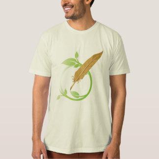 Camiseta holística del logotipo del narrador