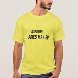 Camiseta Hombre de las señoras