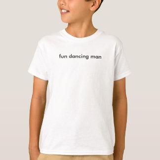 Camiseta hombre del baile de la diversión