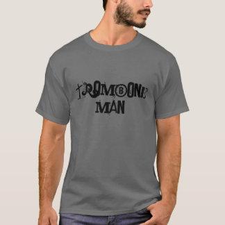 Camiseta Hombre del Trombone - modificado para requisitos
