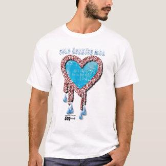 Camiseta Hombre Hearted frío