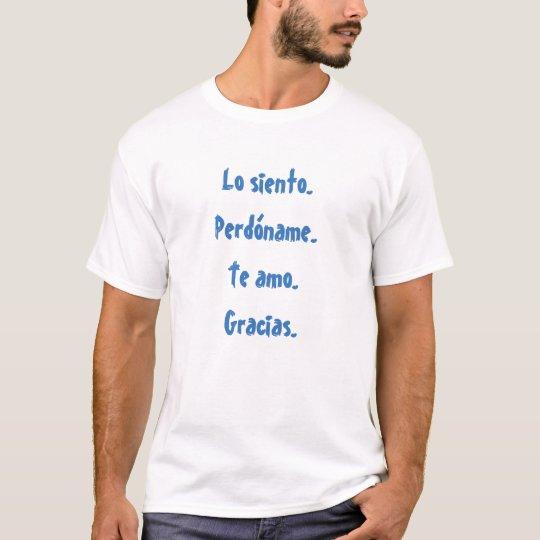 Camiseta hombre Ho'oponopono