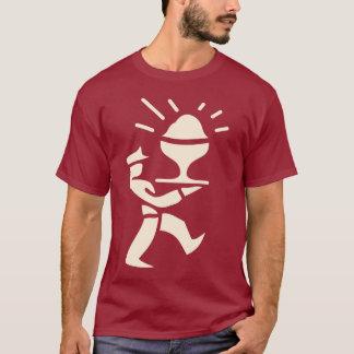 Camiseta Hombre poner crema de la PC (quebradizo)