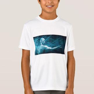 Camiseta Hombre que presenta un concepto como fondo de la