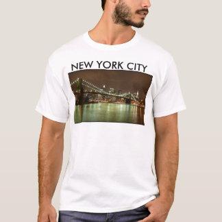 Camiseta Hombre Verde - Nueva York City