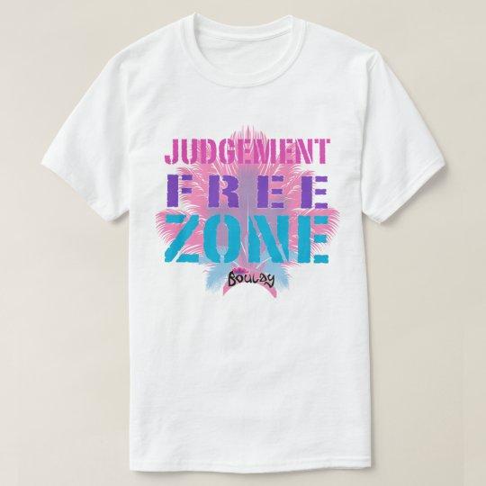 Camiseta Hombres de la zona franca del juicio