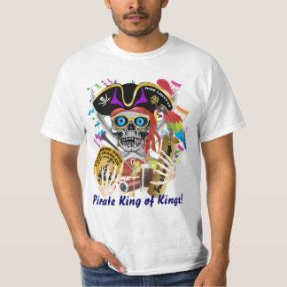 Camiseta Hombres de los días del contrabando del pirata