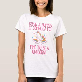 Camiseta Hora divertida de ser un unicornio