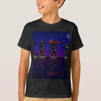 Camiseta Horizonte abstracto