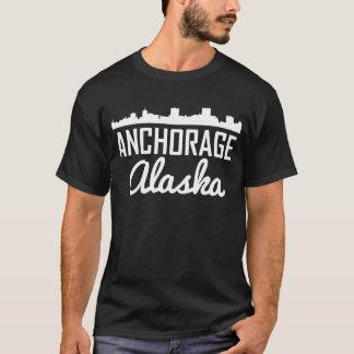 Camiseta Horizonte de Anchorage Alaska