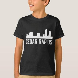 Camiseta Horizonte de Cedar Rapids Iowa City