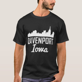 Camiseta Horizonte de Davenport Iowa