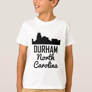 Camiseta Horizonte de Durham Carolina del Norte