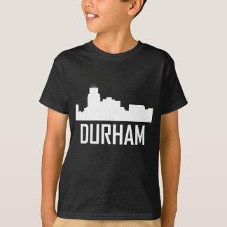 Camiseta Horizonte de la ciudad de Durham Carolina del