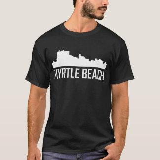 Camiseta Horizonte de la ciudad de Myrtle Beach Carolina