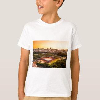 Camiseta Horizonte de la Corea del Sur de Seul